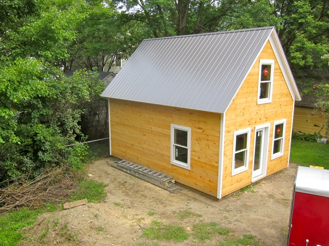Build Notes For A Tiny House / Boing Boing