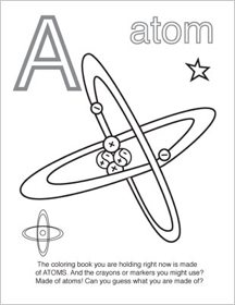 Chemistry Coloring Page For Bindder