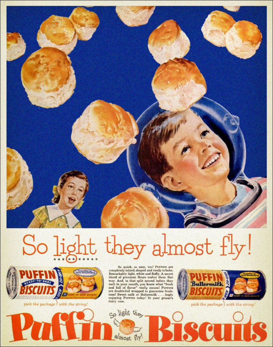 Puffin Biscuits - 1956