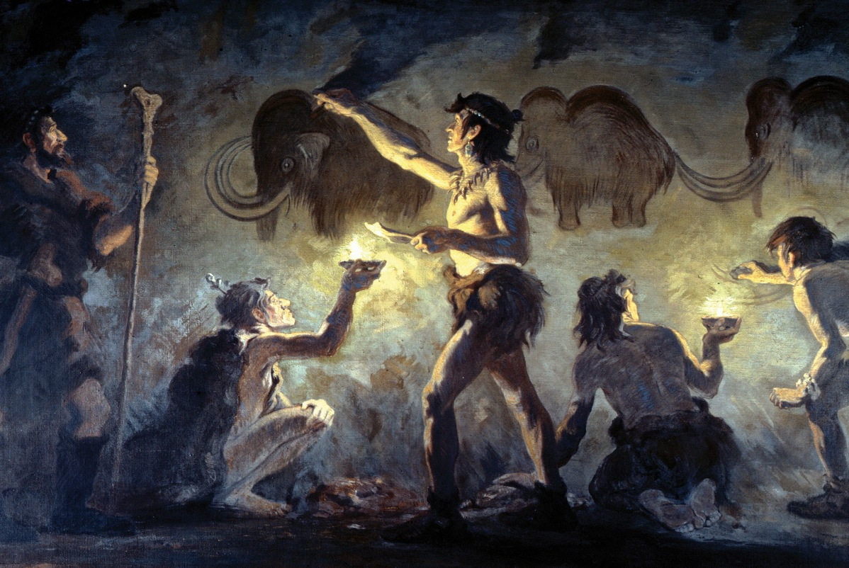 Famous paintings: prehistory 45
