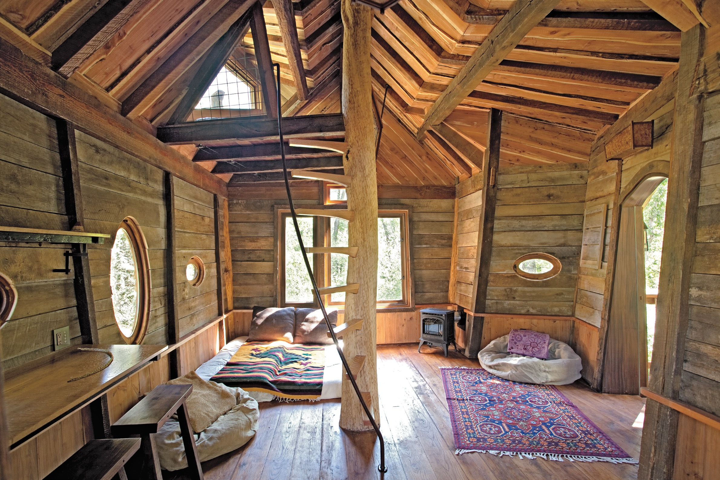 Tiny Homes, by Lloyd Kahn -- exclusive image gallery excerpt ... on small house floor plans, pallet tree house plans, pallet house building plans, wood pallet house plans, pallet house floor plans, post and beam carriage house plans, pallet dog house plans, tiny shed house plans, pallet chicken house plans, pallet house design plans,