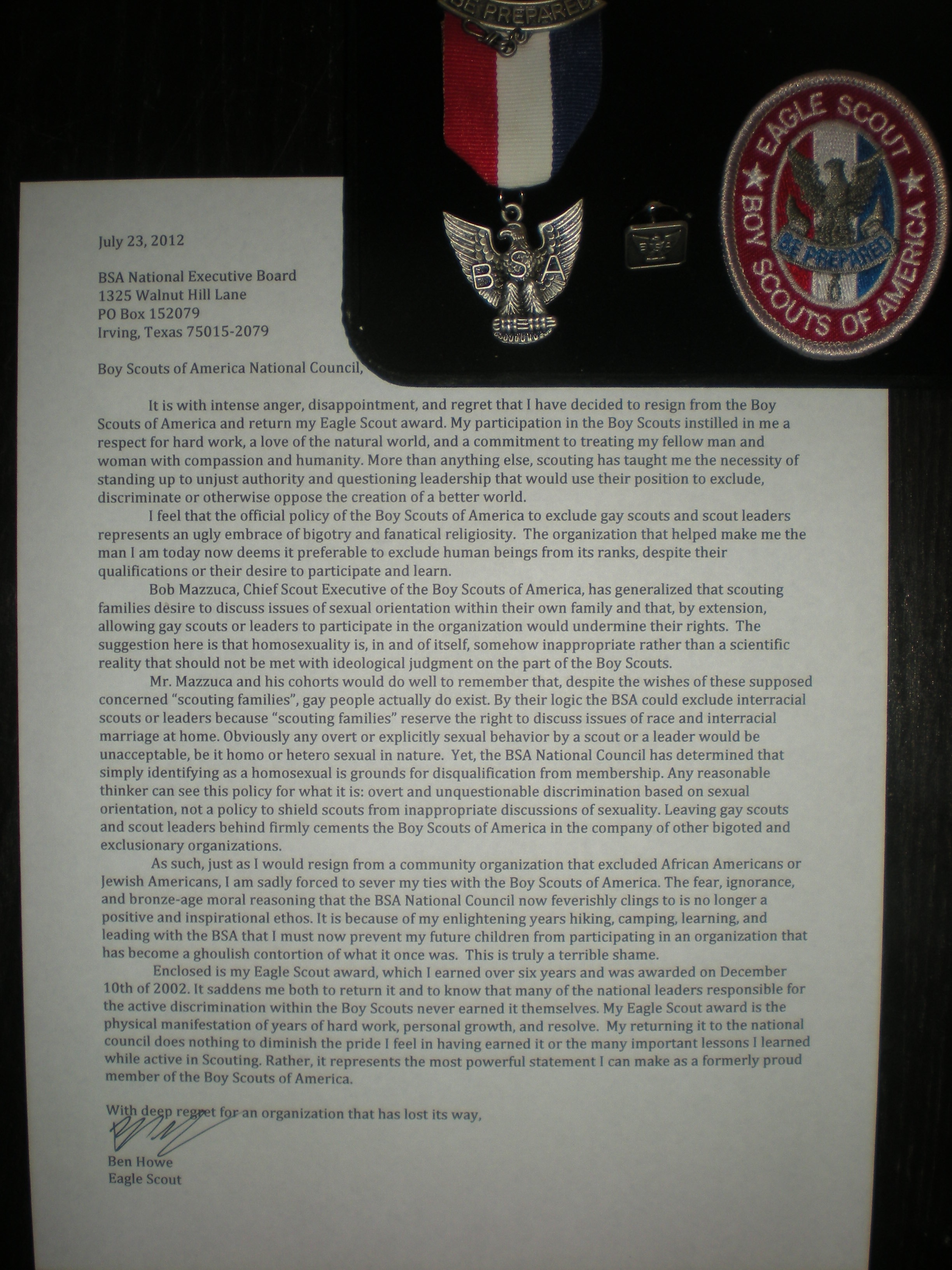 Eagle Scout Letters Of Recommendation Rules