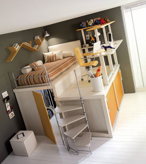 Cool space saving kid rooms boing boing for Space saver kids room