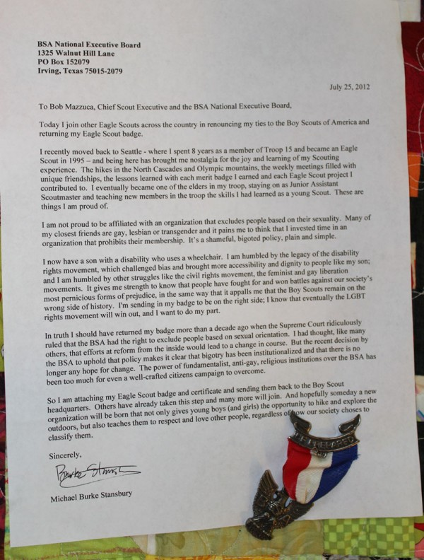 Boy Scout Essay With Quotes: Eagle Scouts Make A Tumblr For Protest Letters / Boing Boing