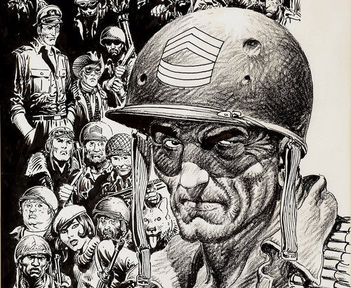 RIP Joe Kubert Comic Book Artist Extraordinaire Boing Boing