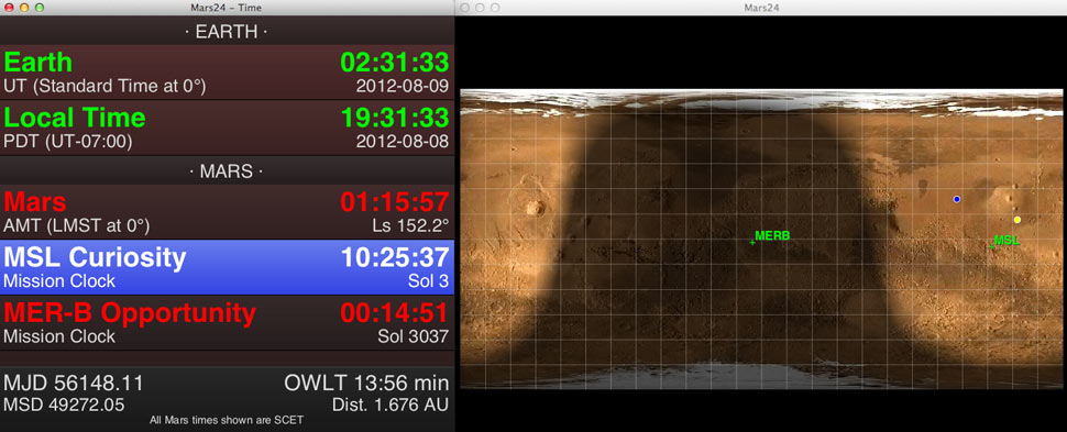 What Time Is It Right Now On Mars  There U0026 39 S A Nasa App For