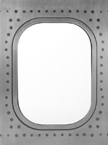 A 747 Window Frame Boing Boing
