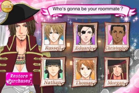 Lesbian dating sim