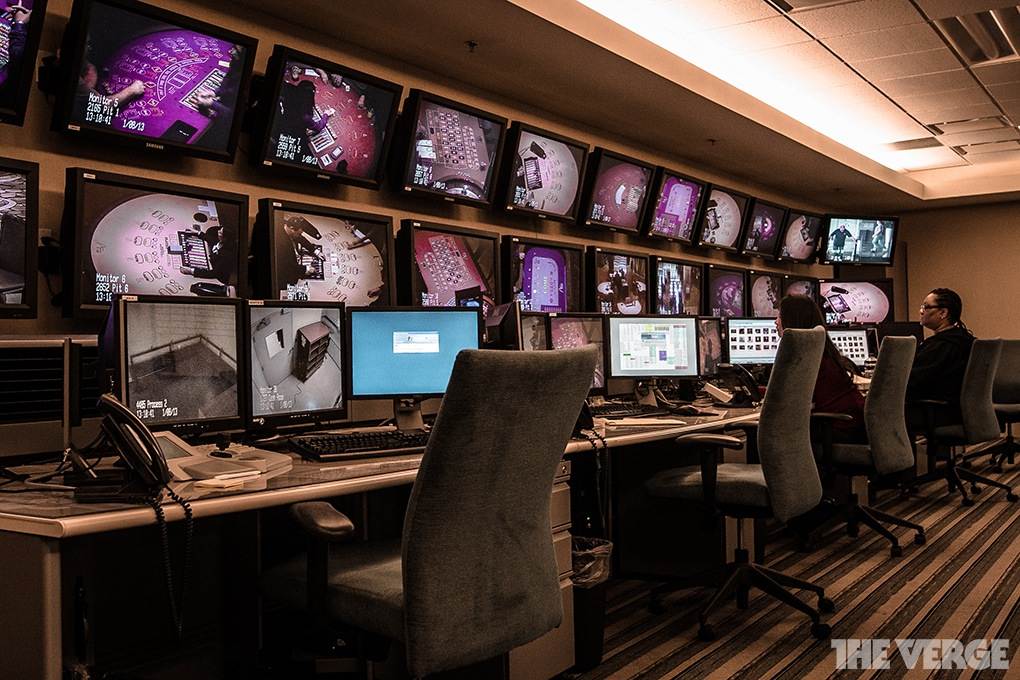 Casino Panopticon A Look At The Cctv Room In The Vegas