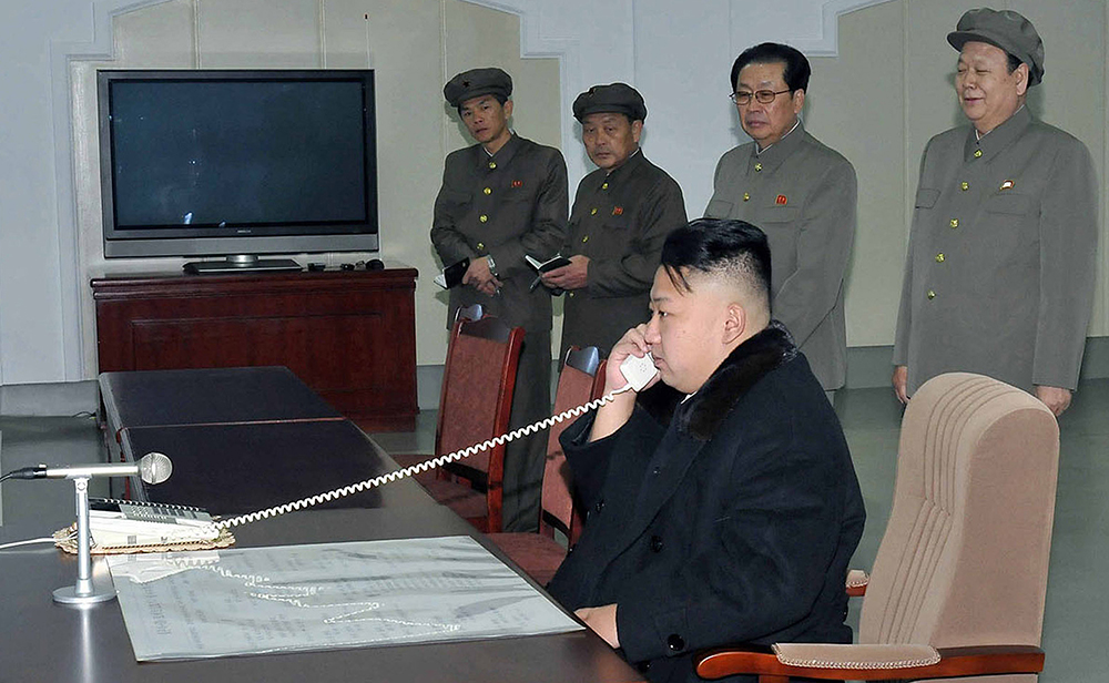 North Korean leader Kim Jong-Un, shown here, is not going to like this themed hackathon at all.