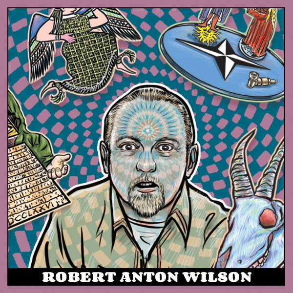 Pope Robert Anton Wilson the 23rd - Quantum Psychology - New Falcon Publications
