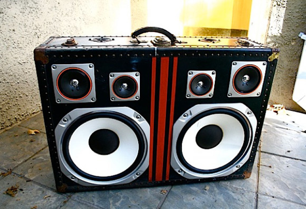 Boomcase Suitcase Speakers Amp Boing Boing