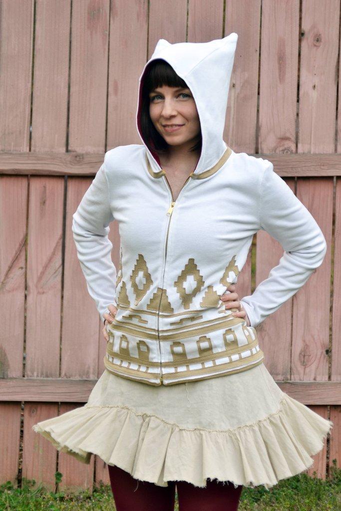 Reversible Journey hoodie - Boing Boing