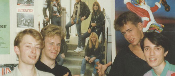 Radiohead in the late 1980s / Boing Boing