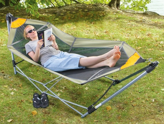 The Foldable, Portable Hammock