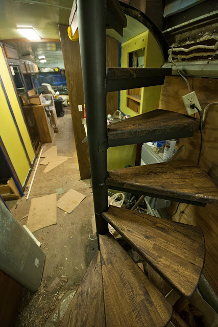 Howto Make A Spiral Oak Staircase Out Of Cheap Ikea