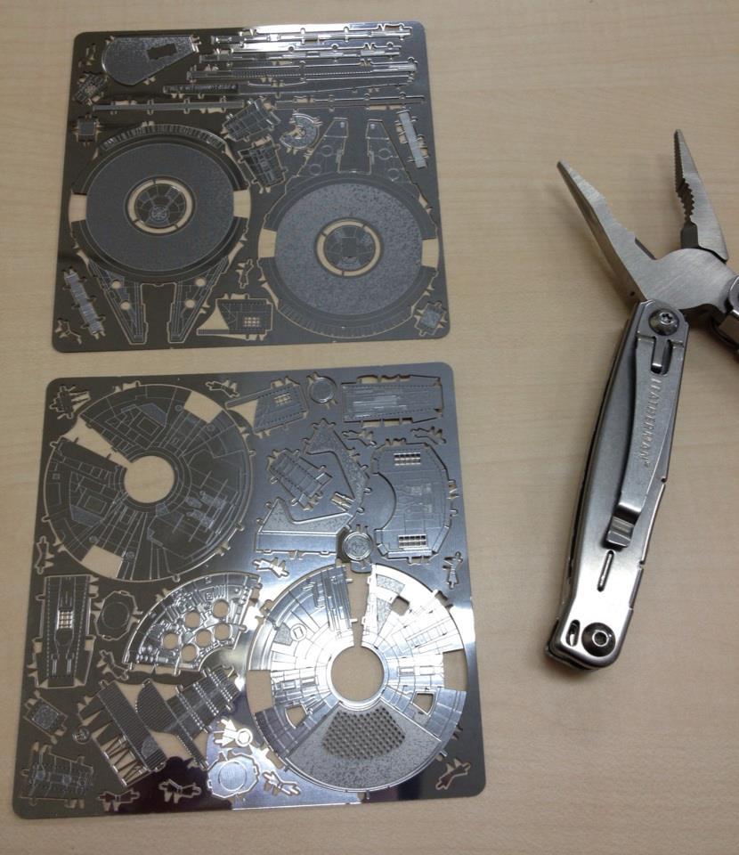 Sheet Metal Millennium Falcon Model Boing Boing