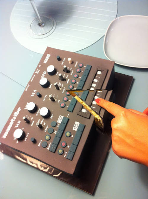 Synthesizer Cake Boing Boing