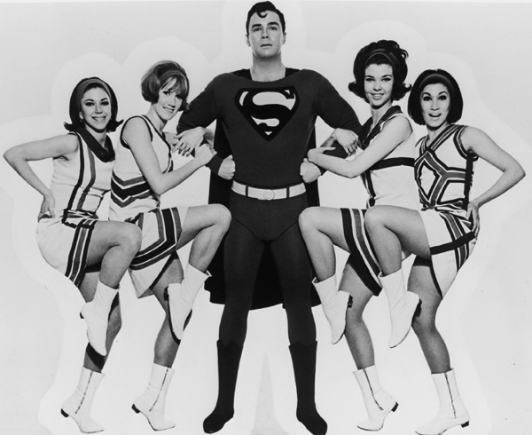 Superman (George Reeves) - Colourised by JMWColourDesign ... |Superman Black And White Tv Show