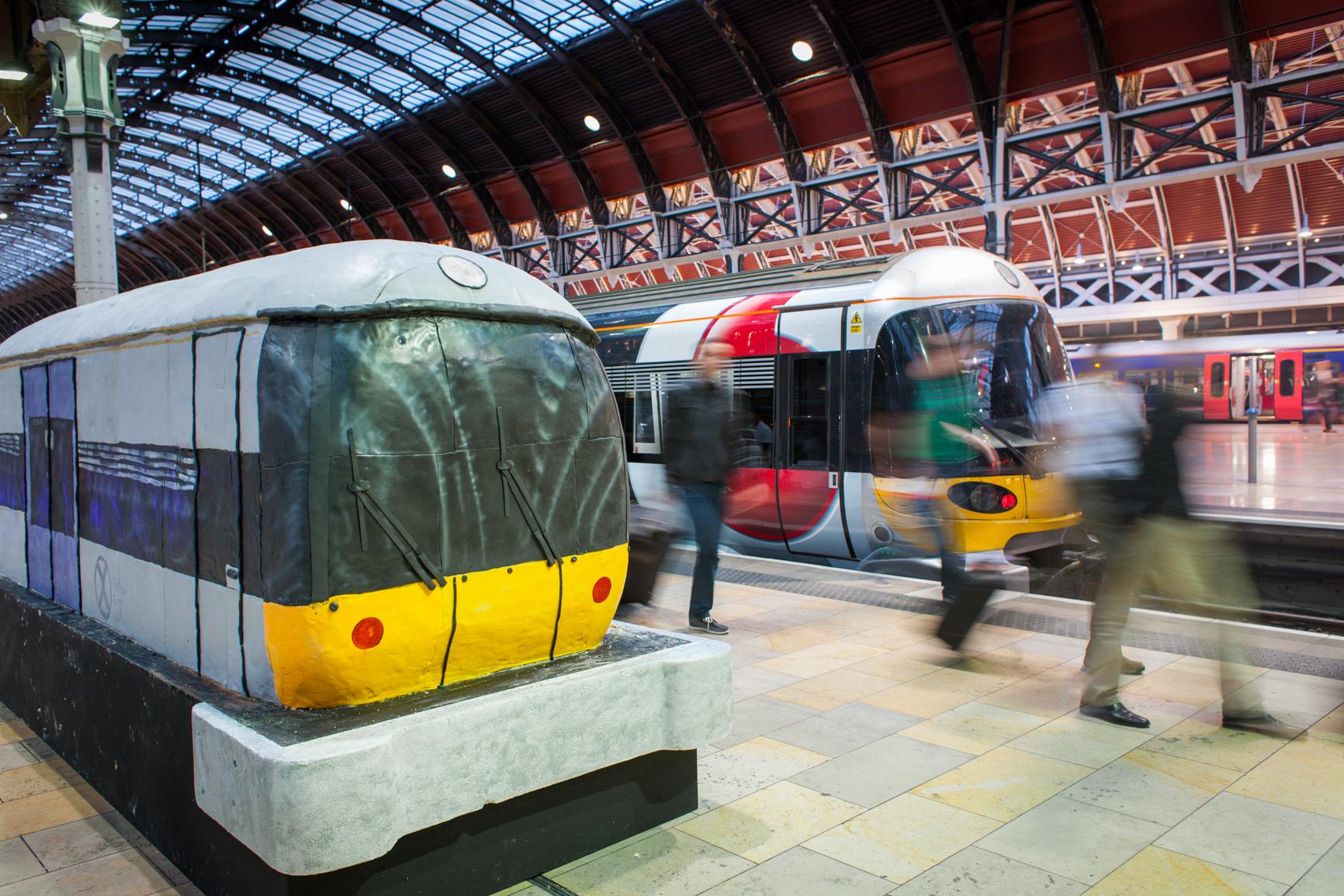 4m Long Cake Train In Paddington Station Boing Boing
