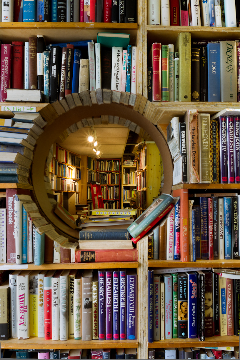 Bookstore Porthole at J W Doull Bookstore