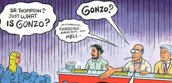 what is gonzo