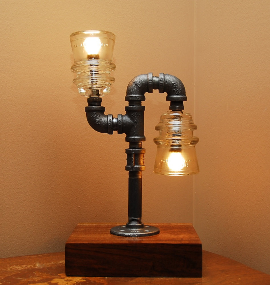 Mario pipe lamp boing boing for How to make a pipe lamp
