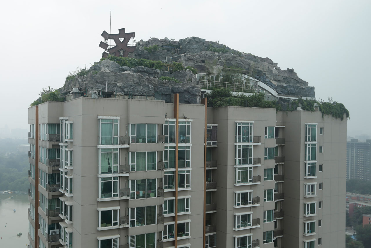 Artificial Mountain Outcrop And Picturesque Villa Added To