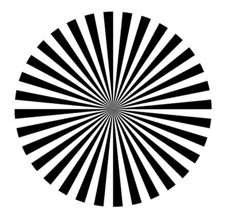See your own brain waves in this trippy optical illusion
