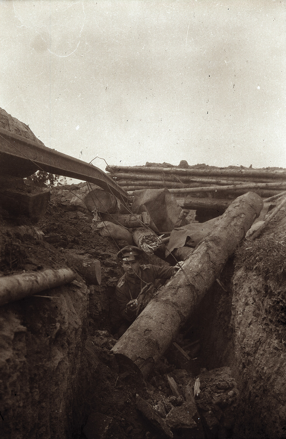 Unseen World War I photos: German Trenches - Boing Boing