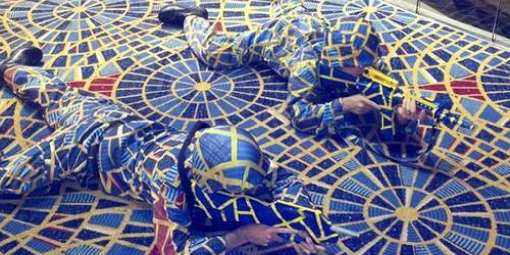 Dragoncon Cosplayers Who Dressed Up As Marriott Carpet Get