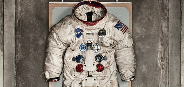 101 Objects Discovery Neil Armstrong space suit 631