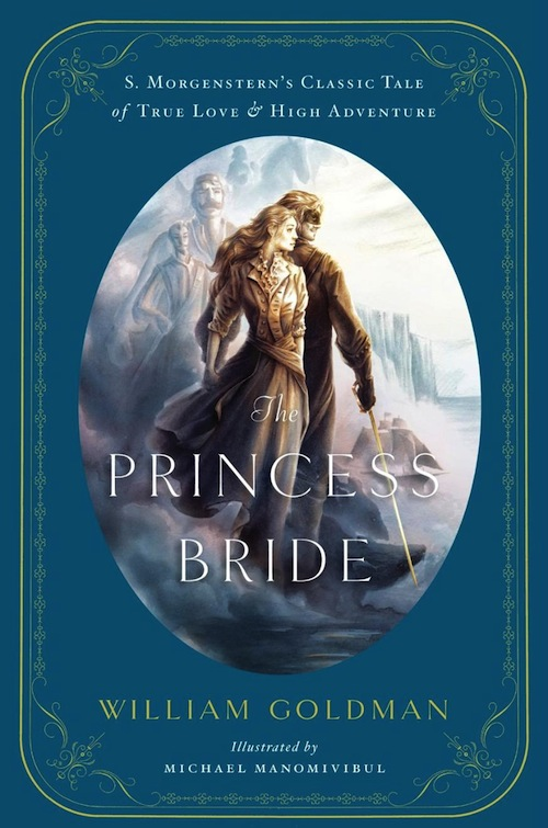 Illustrated Book Cover Version ~ Illustrated anniversary edition of princess bride boing