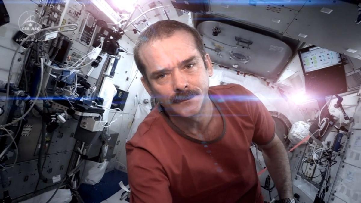 astronaut chris hadfield shares unbeatable point of