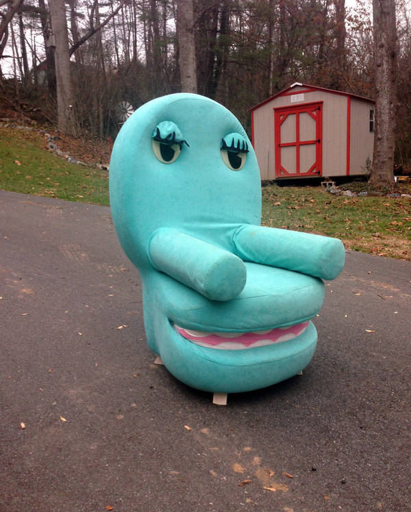 Own A Near Full Size Chairy From Pee Wee S Playhouse
