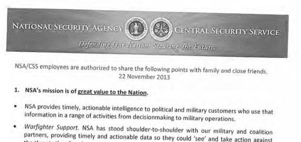 NSA autorizzazione