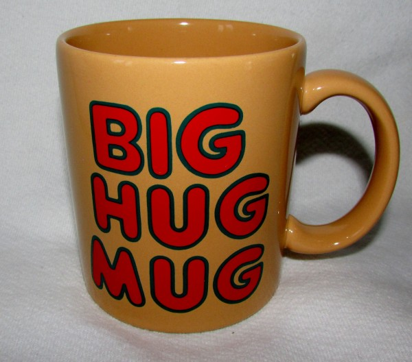 Someone's eBaying a BIG HUG MUG, as seen on HBO's True Detective