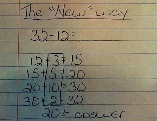 A Math Teacher Explains So Called New Math Boing Boing