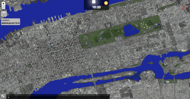 1:1 scale model of Manhattan in Minecraft / Boing Boing