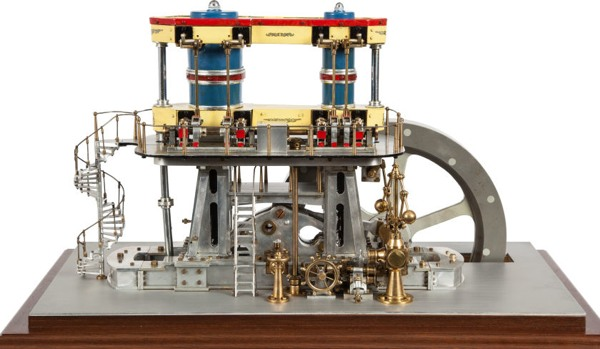Beautiful steam-powered mechanical models on auction block