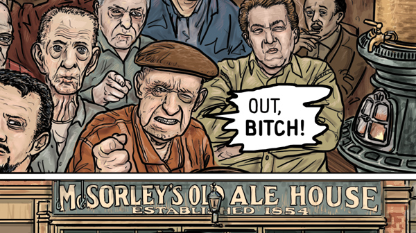 McSorley's Old Ale House by Ethan Persoff and Scott Marshall