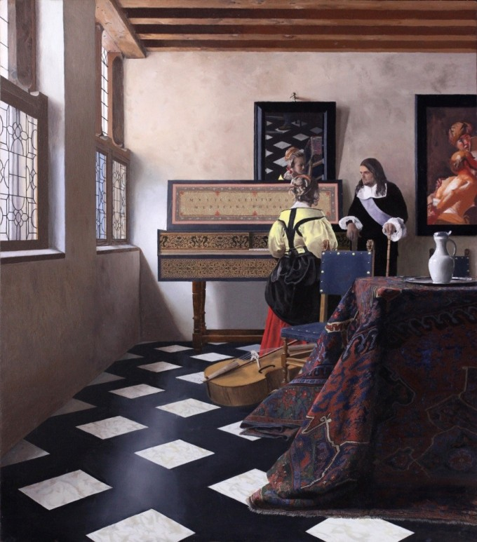 Vermeer S Paintings Might Be 350 Year Old Color