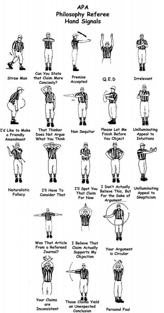 Philosopher referee ha...