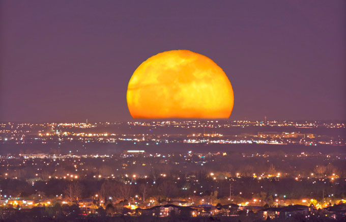 Rare 'Honey Moon' tonight. Turn away from the internet long enough to enjoy it.