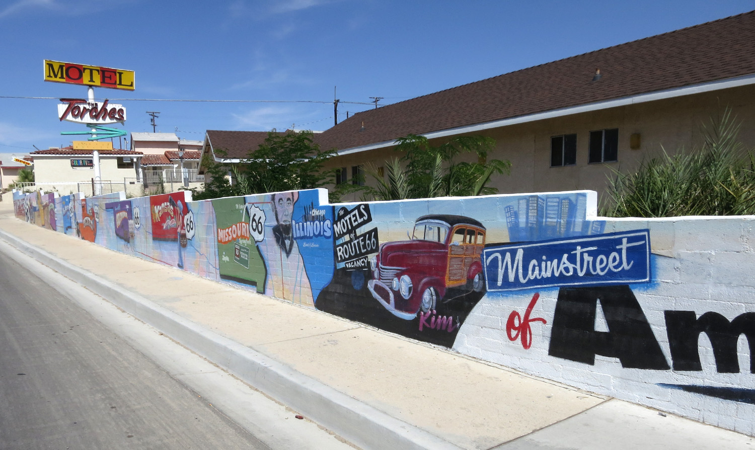 The Sad Old Motels Of Barstow California Boing Boing