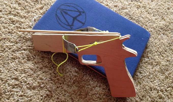 how to make a evs crossbow