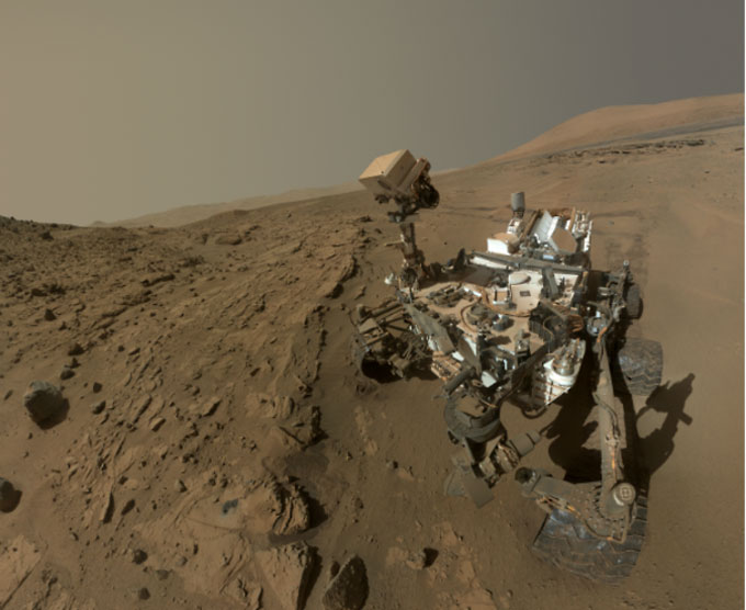 NASA's Mars Curiosity rover completes its first Martian year today