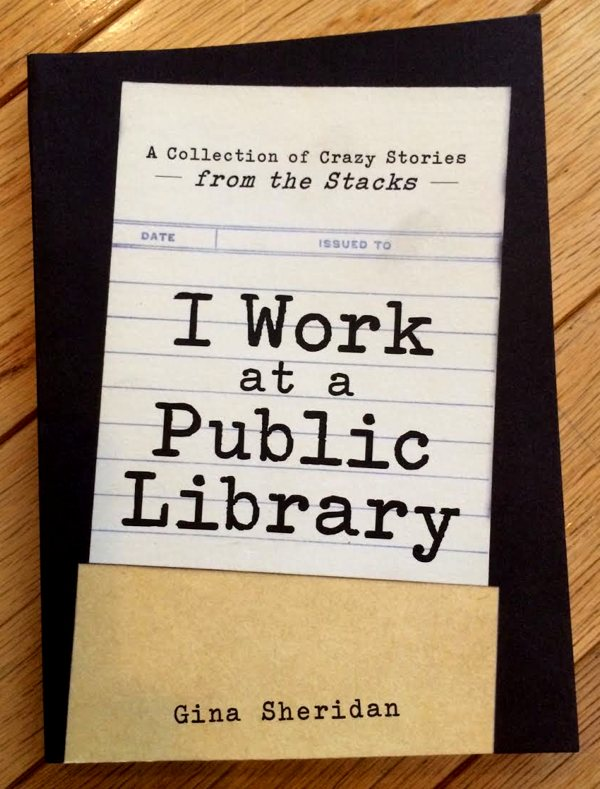 Book of funny encounters between librarians and patrons