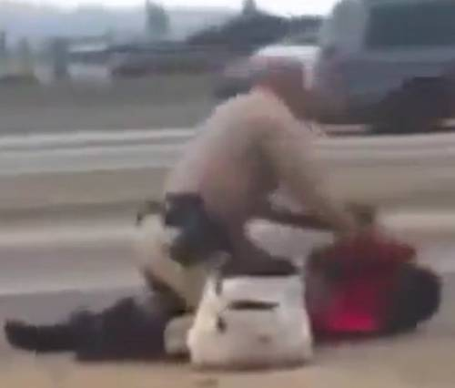 California Highway Patrol seize medical records of woman beaten by cop