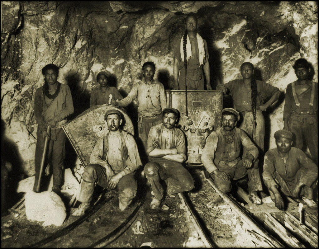 Moral dilemma: rescuing the miners, rescuing the babies: